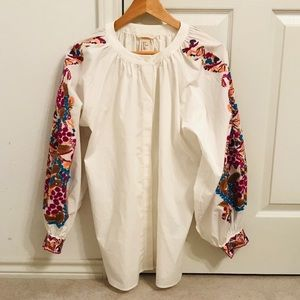 H&M embroidered tunic.